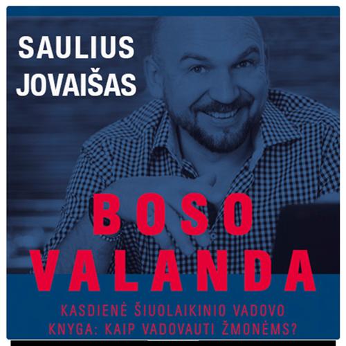 Saulius Jovaišas, Audioknyga Boso Valanda