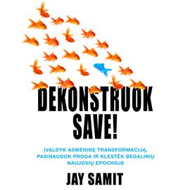 """Jay Samit audioknyga """"Dekonstruok save"""""""